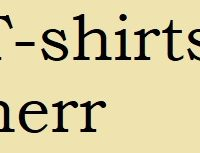 T-shirts - Herr